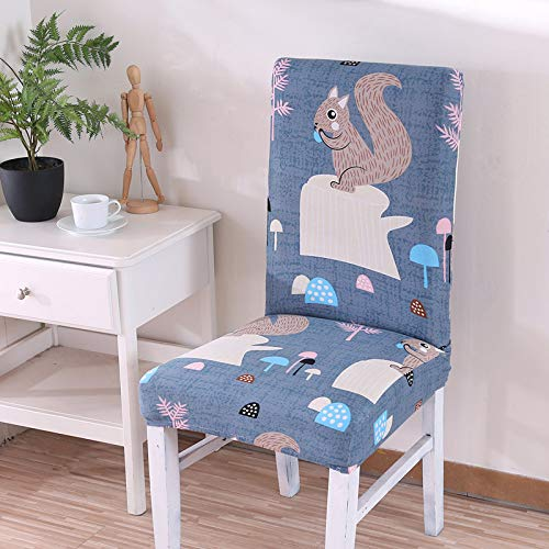 SHANYT Chair Cover Spandex Stretch Dining Chair Cover Restaurant Wedding Banquet Folding Hotel Chair Cover 1Pc-2, Universal ()