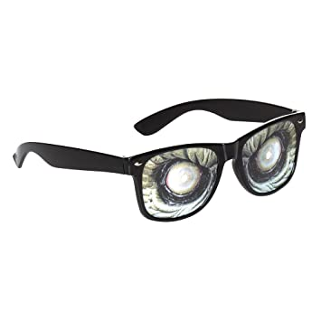 Droopy Eye Specs Glasses Adult Unisex Smiffys Fancy Dress Costume Accessory