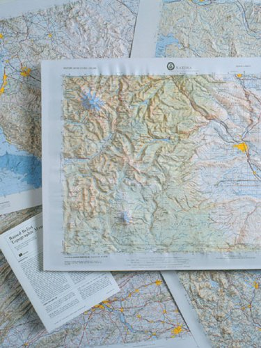 Hubbard Scientific Topographic Relief Maps