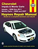 Chevrolet Impala (06-11) & Monte Carlo