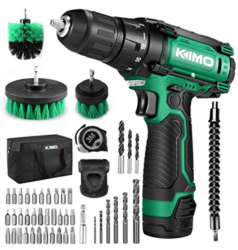 Cordless DrillDriver Kit 48pcs