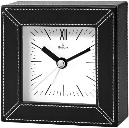 Bulova Parkhill Table Top Alarm Clock – B6846