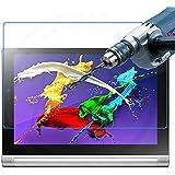 【国産ガラス素材】【rise】Lenovo YOGA Tablet 2-10 (Windows/Android) 液晶保護強化ガラスフィルム 硬度9H 強化版0.4mmガラスを採用 飛散防止 液晶保護フィルム 液晶カバー 液晶ケース (lenovo yoga tablet 2 10, 強化ガラスフィルム1枚パック)