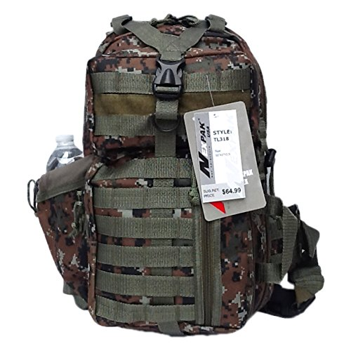Brown Camouflage Backpack - 18