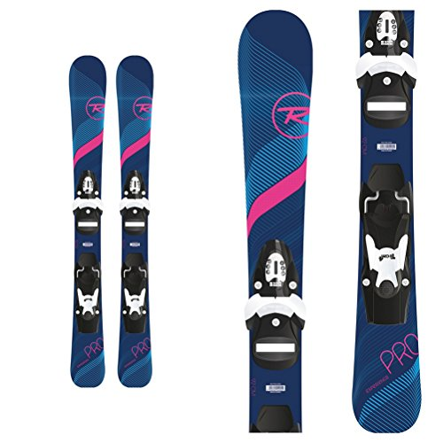 (Rossignol Experience Pro W Kids Skis with Team 4 Bindings 2019-80cm)