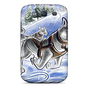 Premium HLC-958-xCb Case With Scratch-resistant/ Dog Sled Case Cover For Galaxy S3