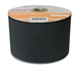 Stretchrite 3-Inch by 10-Yard Black Heavy Stretch Knit Elastic Spool