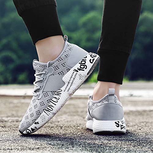 Pour Bottes De Chaussures Hommes Respirant Espadrilles Mesh Course Julywe Gris Sport XpwxCxPq
