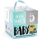 SAY HO UM Ultimate Baby Milestone Age Photo Blocks |...