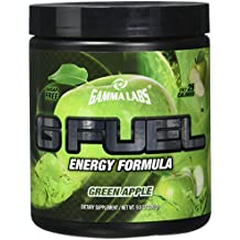 Gamma Enterprises G Fuel Nutrition Supplement, Green Apple, 40 servings, 280 g