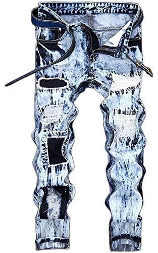 Self Nativity Ssig alla Straight Cowboy Da Abbigliamento Jeans Originali Uomo Classic Blau Ne Moda coltivati PtYInFw