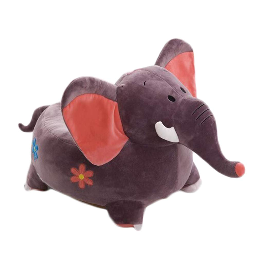 Elephant Children Kids Plush Soft Toddler Chair Seat Nursery Baby Sofa Gift Elephant Birthday Toy,Orange GYD