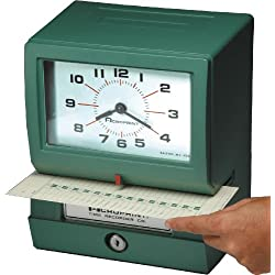 Acroprint 150RR4 Heavy Duty Automatic Time Recorder for Month, Date, Hour (0-23) and Hundredths Time Clock