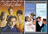 Romantic Triple Feature - Nicholas Sparks The Notebook and Nights in Rodanthe & Bell Ami Robert Patinson 3-Movie Bundle