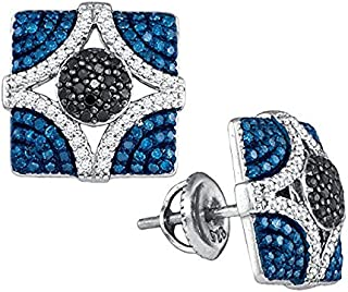 Boucles d'oreilles Femme 1/4 ct Diamant