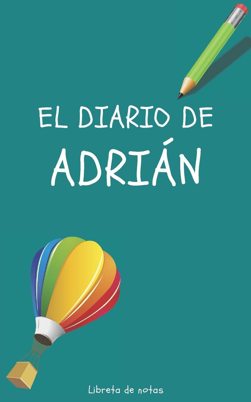 Amazon.com: El Diario de Adrián Libreta de Notas: Cuaderno ...