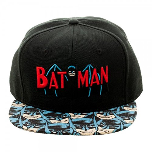 6b34976a Image Unavailable. Image not available for. Color: DC Comics Batman  Halftone Sublimated Bill Snapback Black