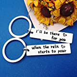 Best Friend Gifts Keychain I'll Be There for You