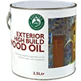 Fiddes Exterior High Build Wood Oil - contains UV filters 2.5ltr by Fiddes