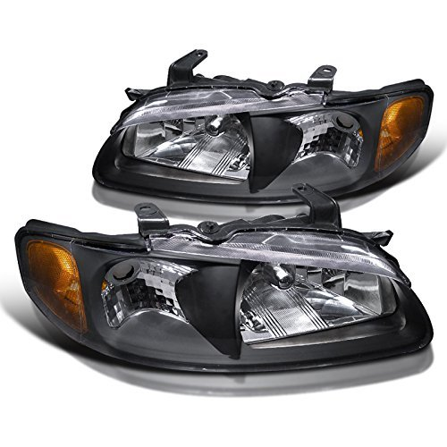 Jdm Crystal Black - Spec-D Tuning 2LH-SEN00JM-RS Nissan Sentra Jdm Black Crystal Head Lights Lamps