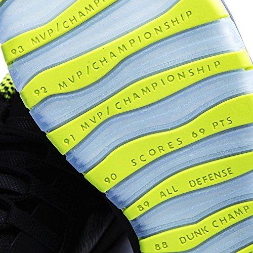 Nike Herren Air Jordan Retro 10 Basketballschuhe, Grau Zwart, Vnm Groen-cl Spel-anthrct