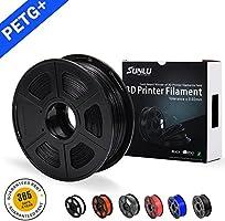 SUNLU PETG 3D printer filament 1KG Spool 1.75mm