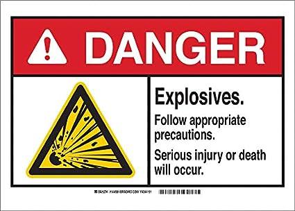 Señal de material químico, biodegradable y peligroso, autoadhesiva ...