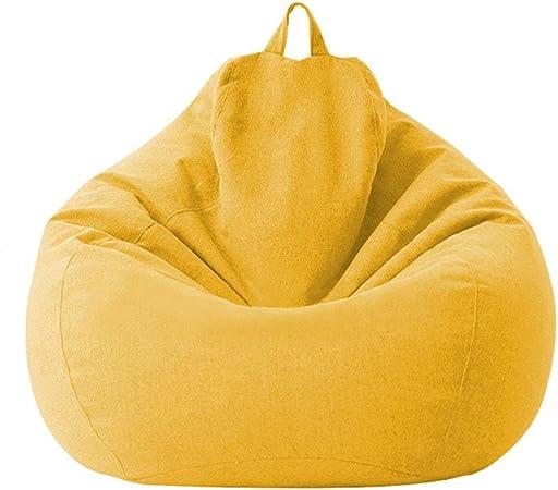 per avvolgere limbottitura senza pulizia Pouf per divano senza imbottitura con fodera interna per pouf e divani interni 70 x 80 cm 1 pezzo colore: bianco con tre dimensioni di facile pulizia