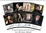 Rittenhouse 2012 Game of Thrones Season 1 Trading Cards Box / 120 cards / some with autographs!