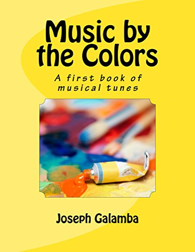 1st Music Book (Music by the Colors: A first book of musical tunes)