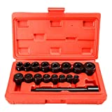 FreeTec 17pc Universal Clutch Aligning Kit Flywheel Pilot Hole and Clutch Drive Plate Alignment Tool