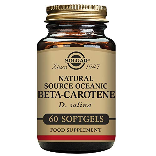Solgar – Oceanic Beta Carotene 25,000 IU, 60 Softgels Review