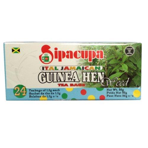 Anamu Tea (Jamaican Guinea Hen Weed 100%) Roots and Leaves by SipaCupa (Jamaican Sarsaparilla Root)