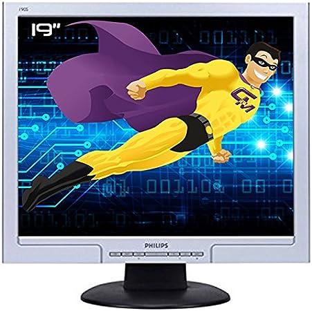Ecran PC Pro 19 Philips 190s8fs hns8190t LCD TFT VGA DVI VESA 1280 x 1024 gris: Amazon.es: Electrónica