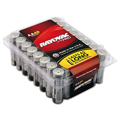 Reg Alkaline Batteries (Ultra Pro Alkaline Batteries, AA, 48/Pack)