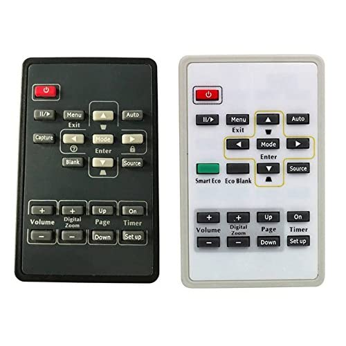 CK Global Brand Projector Remote Control for BENQ HT480B MS612ST MX810ST SU922 MP575 MW814ST PB6210 W1090 (either black or white, depends on stocks)