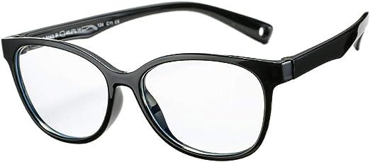 DeBuff Kids Blue Light Blocking Computer Glasses Boys Girls TPEE Unbreakable Eyeglasses Frame