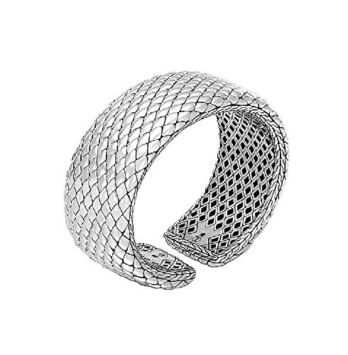 HJ John Hardy Sterling Silver Legends Cobra Collection Bracelet