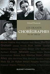 Les grands chorégraphes du XXe siècle par Gérard Mannoni