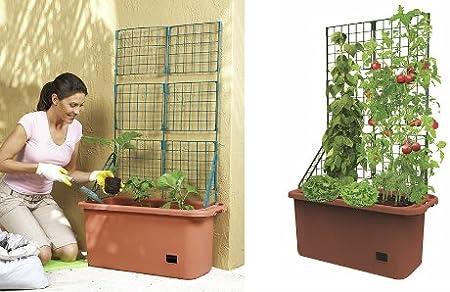Mobile Garden Vegetable Patch Planter Pot & Trellis product image