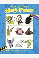 How to Draw Harry Potter for Kids: Stress Relieving Coloring Book with 25 Step-By-Step Harry Potter Characters Paperback