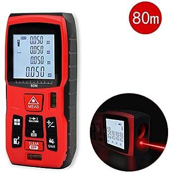 qyuhe laser distance meter 80m measure measuring tool measurement