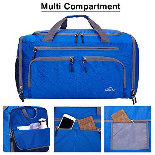 Venture Pal Packable Sports Gym Bag with Wet Pocket & Shoes Compartment Travel Duffel Bag for Men and Women-Royal Blue by Venture Pal (Image #5)
