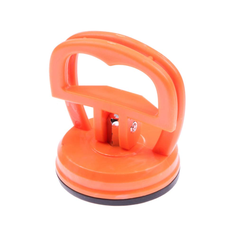 Lightweight Suction Cup,Heavy Duty Suction Cups Phone Computer Screen Repair Tool for iMac,iPhone,IPad,Tablet Computer and Other LCD Screen Removal(Orange,1 Pcs) House Art