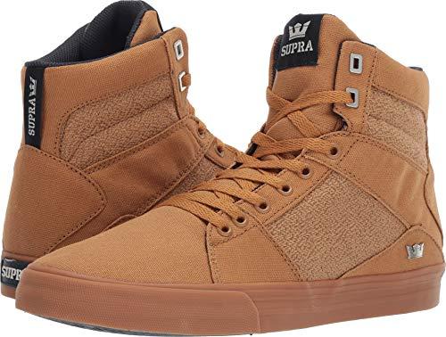 Supra 05662 Men's Aluminum Sneaker, Tan-Gum - 10.5 M US ()
