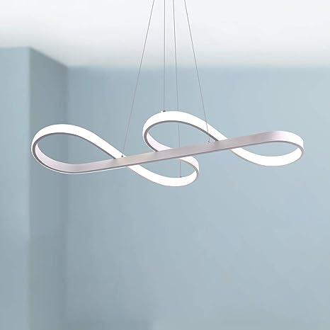 Amazon.com: Lámpara de techo con luz LED con diseño de nota ...