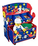 Lego Storage Unit with Trundle Bin