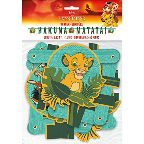 Disney Lion King Jointed Party Banner - Lions Banner