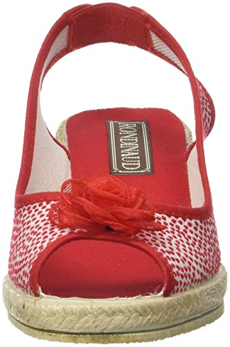 Rondinaud D-e17-ramel - Zapatos Mujer Rouge (Rouge)