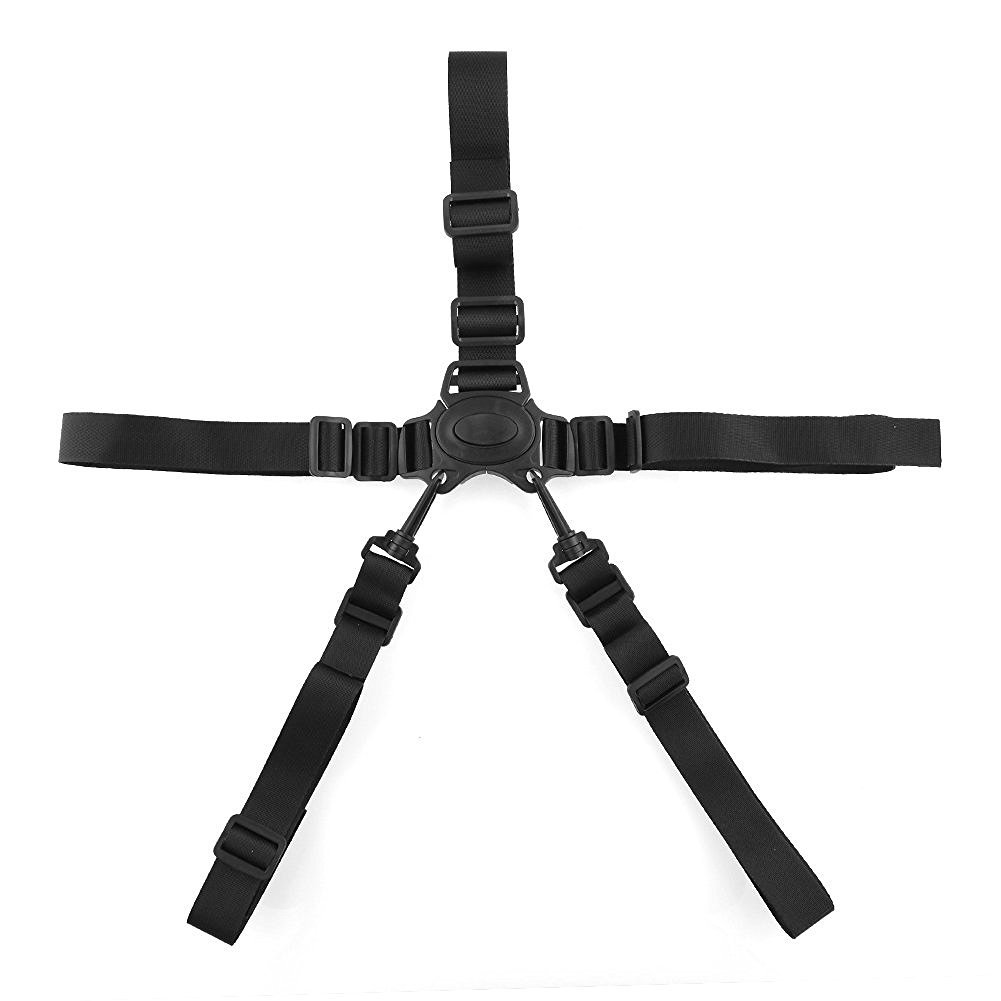 Panlom® Baby 5 Points stroller Pram/Buggy/Chair Safety Belt Strap